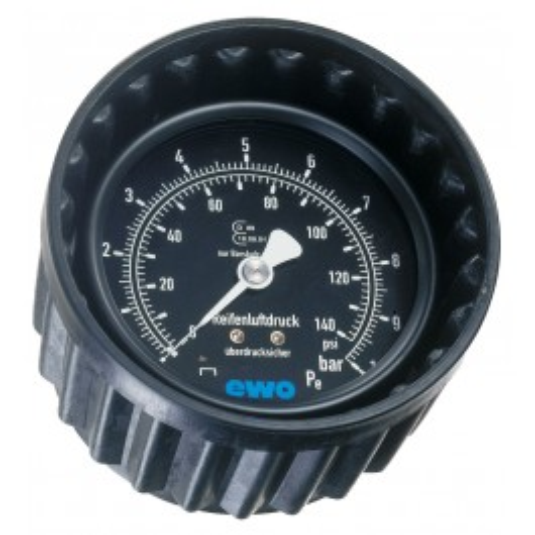 Druckmanometer mit Schutzkappe 0-12 bar