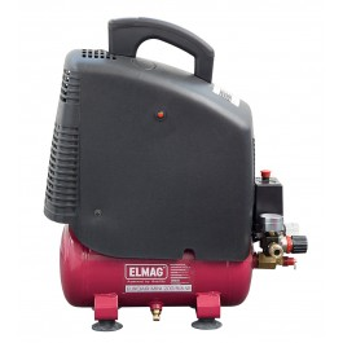 Kompressor EUROAIR MINI 200/8/6 W - 'SET-AKTION':