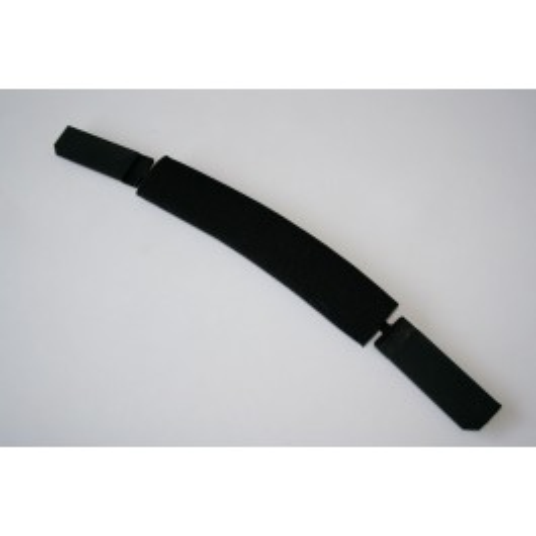 Stirnschweißband inkl. Kopfband vorne 'Textil/Schwarz'