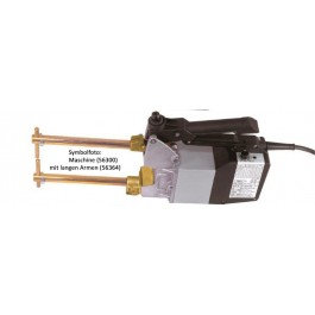 CU-Elektrodenarme inkl. Ø 10mm Elektroden, L=350mm
