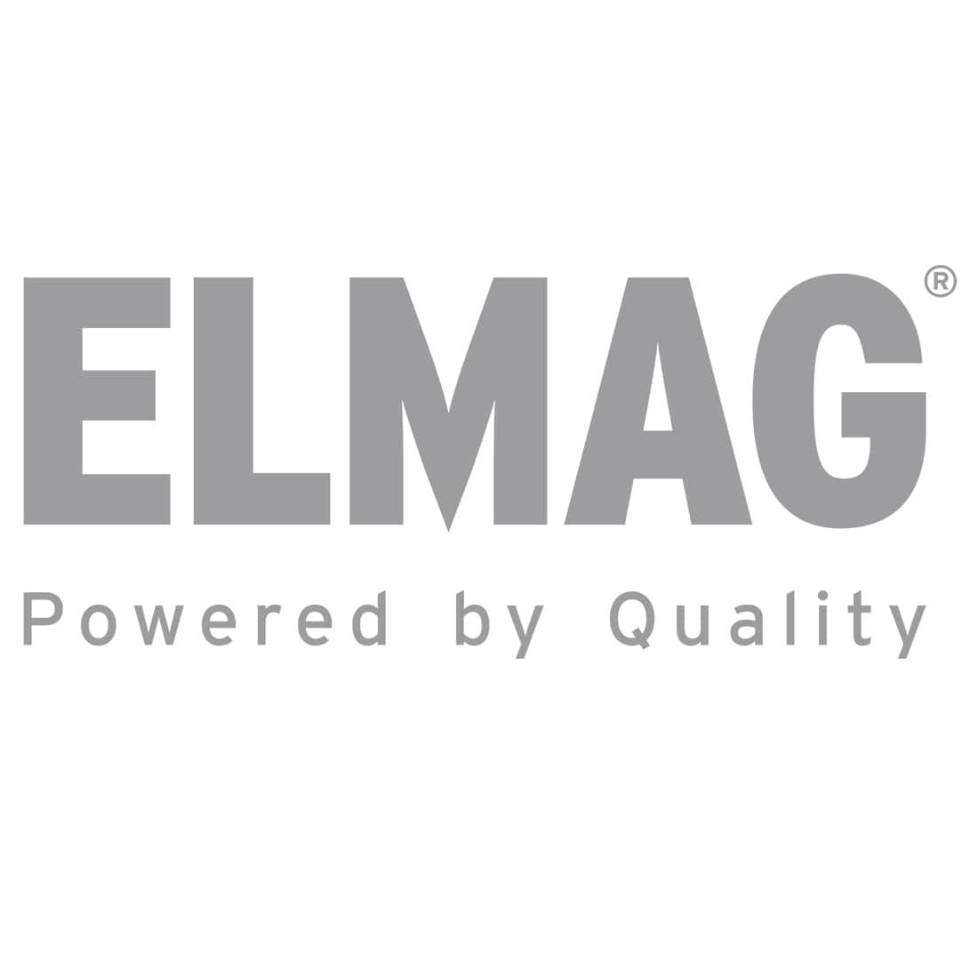 INDUSTRIE Schlauchaufroller Edelstahl '4432/10' für Druckluft u. Wasser 70°C, 20bar - ohne Schlauch'ABS-Kunststofftrommel'